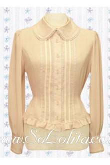 Lolita Simple Fashion Long Sleeves HotSale Blouse