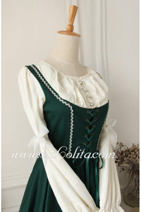 Vintage Dark Green Dress