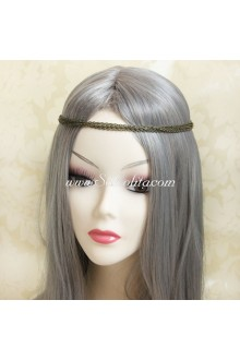 Lolita Headdress Simple Bronzed Metal Headband