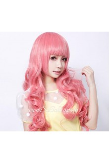 Lolita Cherry Love Pink  Maid Cute Cosplay Wig