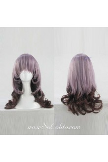 Lolita Wig Curl Sweet Dreamful Purple