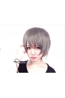 Lolita Nifty Grey Straight hair   Cosplay Wig