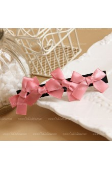 Cute Pink Bowknot Lolita Headdress  Barrette