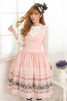 Pink Alice in Wonderland Sweet Lolita Dress