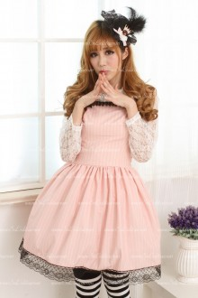 Noble Slim Pink Sweet Lolita Dress