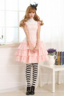 Pink Multilayer Cake Sweet Lolita Dress