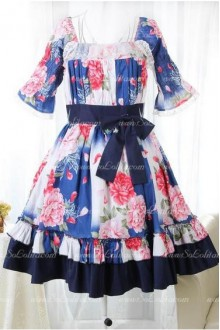 Seaside Resort Blending Sweet Lolita Dress