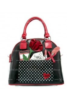 Lolita Small Fresh Black Street Bag