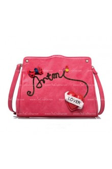 Lolita Lovely Bowknot and Heart Bag
