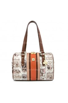 Lolita Fashion Square Retro Print Bags