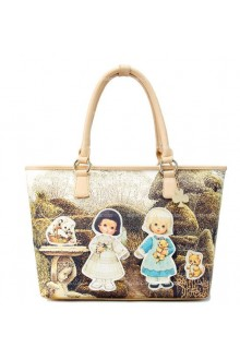 Lolita Vintage Girls Print Sweet Popular Bags