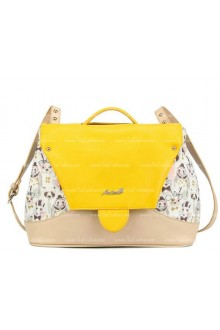 Lolita Yellow Lovely Mixed Colors Clamshell Fashion Bags