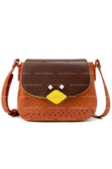 Lolita Popular Street Sweet Bird Collision Color Bags