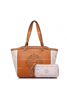 Lolita Small Fresh Printing Cherry Pink Big Casual Bags