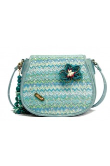 Lolita Fashion Lovely Straw Flowers Forest Department Bag