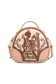 Lolita Pink Retro Floral Girls Bag