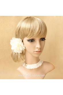 White Lady Models Minimalistic Stylish Lolita Necklace