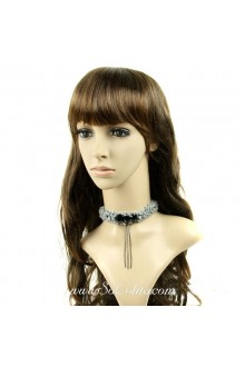 Gray Party Charming Fringed Short Lolita Necklace