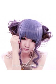 Purple Cute Roleplay Lolita Wig