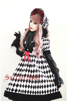 Illusion Realizer Diamond High Waist Surface Spell Gothic Lolita Doll Dress