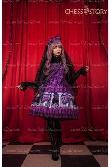 Sweet Cotton Doll Theater Series Chess Story Lolita Jumper Dress-Time-limited Offer