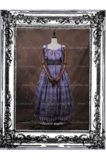 Sweet Butterfly Dance Chiffon Classical Puppets Lolita Sling Dress