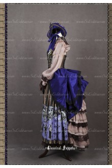 Sweet Steam Band Luxurious Classical Puppets Lolita Dress Suit