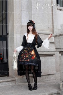 Sweet Choosing Flower Girl Souffle Song Lolita Lace Chiffon Dress