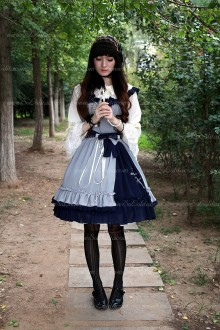 Sweet Cross Embroidery Souffle Song Lolita JSK