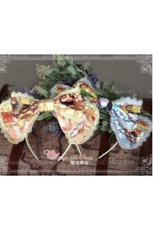Cotten Sweet Magic Tea Party The rabbits of easter Knot Lolita Headband
