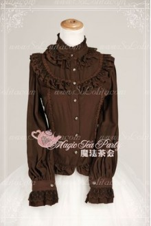 Sweet Magic Tea Party JK Xilia Knot Lolita Blouse