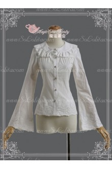 Sweet Magic Tea Party JSK Long Sleeve Embroidered Lolita Blouse