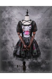 Broken Doll MISS CAT Classical Puppets Short Sleeved Dress