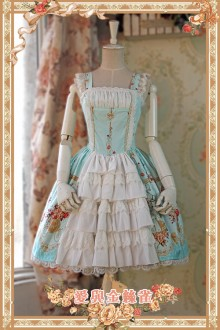 Infanta Love & Canary  Lolita Jumper Dress