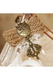 Sen Department Stylish Owl Vintage Mix and Match Lolita Sweater Chain