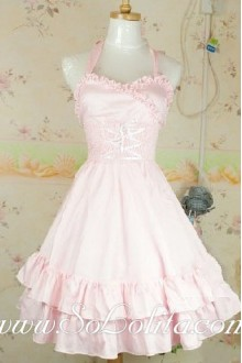 Pink Royal Court Barbie Doll Sweet Lolita Dream Tee Dress
