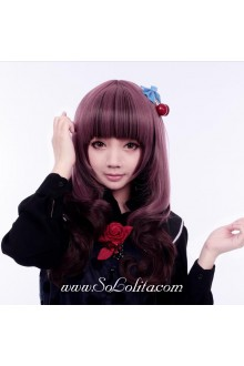Taro Purple Brown Sweet Roleplay Lolita Wig