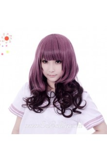 Taro Purple Curl Sweet Roleplay Lolita Wig