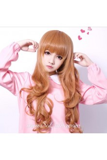 Curl Long Golden Girl Sweet Roleplay Lolita Wig