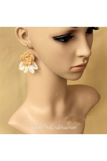 Lolita Sweety Cute Little Freshness Flower Earring
