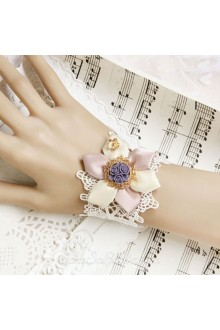 Beautiful Ribbon Flowr Lace Fashion Vintage Lolita Bracelet
