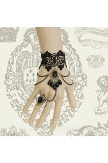 DIY Vintage Black Lace Fashion Gothic Palace Lolita Bracelet