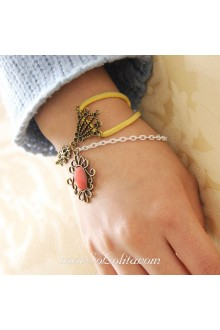 Casual Vintage Gem Punk Simple Fashion Lolita Bracelet