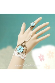 Cherry Love Little Fresh Vintage Lace Lolita Bracelet