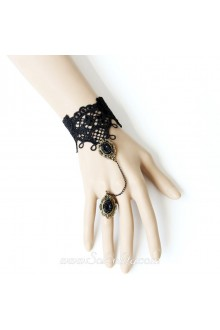 Gothic Black Lace Exquisite Fashion Lolita Bracelet
