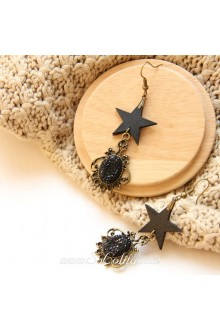 Lolita Lovely Cute Pop Creative Retro Star Earring