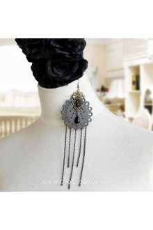 Lolita Punk Style Long Tassel Retro Pop Earring