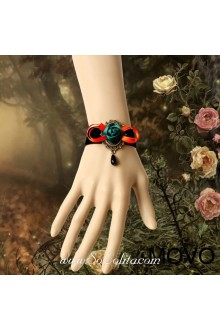 Dark Queen Rose Vintage Fashion Lolita Bracelet