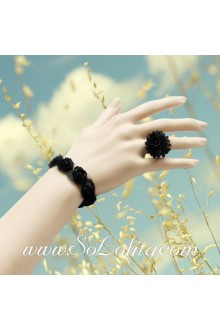 Lace Flower Vintage Fashion Simple Generous Lolita Bracelet