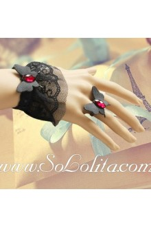 Zexy Lace Butterfly Fashion Lolita Bracelet